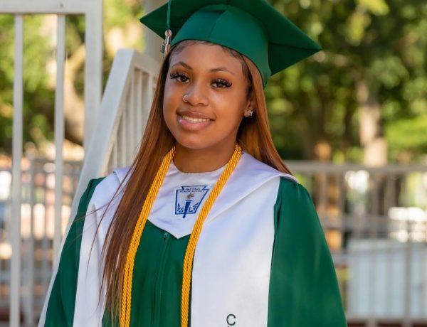 Gabby Robinson, Graduate Of the Week