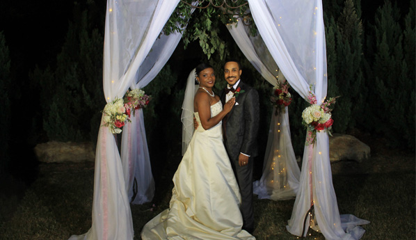 Congratulations MR. And MRS. GREGORY HEARNS!